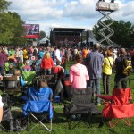 The crowd at RTR 2012